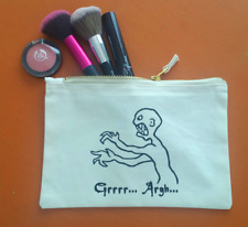 Buffy la Cazavampiros Inspirado Bolso de Maquillaje o Lápiz Funda Algodón Cierre
