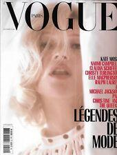 VOGUE n°990 septembre 2018  Kate Moss_Légendes de mode: Schiffer_Campbell_Le Bon