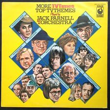 Jack Parnell MORE TOP TV THEMES LP Soundtracks Kung-Fu South Riding Lotus Eaters