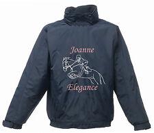 Estampado Personalizado PONY Chaqueta Show JUMPING Regatta Equitación RESISTENTE