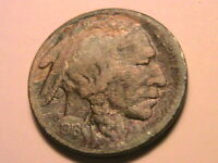 1916-S Buffalo Nickel 5C (VF) Very Fine Nice Old Tone USA Indian Five Cent Coin
