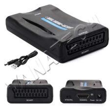 CONVERTITORE ADATTATORE DA HDMI A SCART 1080P PER HDTV WII XBOX PS3 SKY BOX TV