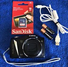 Canon PowerShot SX130 IS 12.1MP Digital Zoom Camera~~Mint~Bundle~16GB SD~~