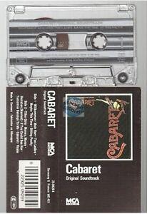 CABARET cassette K7 tape SOUNDTRACK BOF BANDE ORIGINALE DU FILM john kander ebb