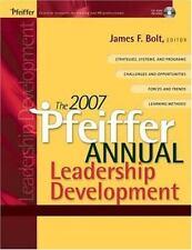 The 2007 Pfeiffer Annual: Leadership Development-ExLibrary