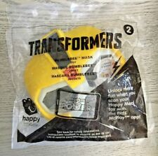 McDonald's Happy Meal Toy- 2017 - Transformers - #2 BUMBLEBEE MASK - McPlay app