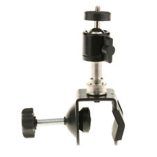 "C-Clamp 1/4"" Thread Camera Hot Shoe Mount Mini Ball Head Adapter Cool Clamp"