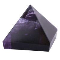 3cm Ametista Cristallo Piramide Egiziana Viola Pietra Decorazione Naturale