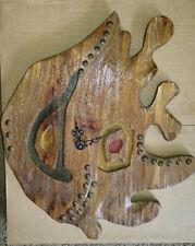 Handmade Real Wood Wall Clock - Eco Friendly Natural Wall Decor New
