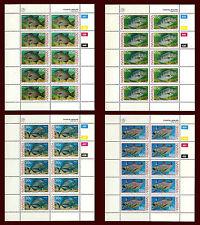 NAMIBIA. Fish. Coastal Angling. 4 miniature sheets. MNH 1994