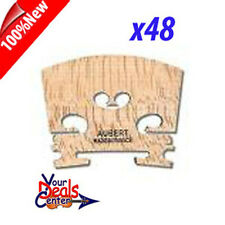 "Genuine Aubert Violin Bridge 4/4  ""Made in France"" x 48"