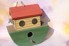 Noah's Ark Hand Made Decorative Birdhouse Decorative, Peg's Palette