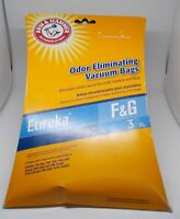 ARM & HAMMER Odor Eliminating Vacuum Filter Bags 3 ct F&G New In Package