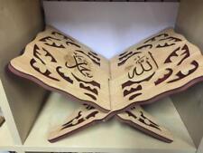Quran Koranständer Koranhalter Heiliges Buch Holz  Allah  w mohammed