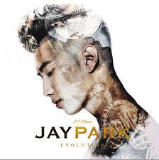 JAY PARK - Evolution (Vol. 2) CD+Photobook