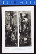Visitation & Presentation in the Temple -  Peter Paul Rubens - 1939 Rotogravure