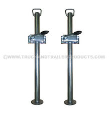 34MM PROP STANDS WITH CLAMPS (PAIR) - TRAILER - HORSEBOX TTL.76.1007