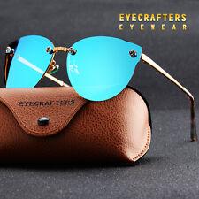 Polarized Sunglasses Womens Driving glasses Fashion Cat Eye UV400 Mirror Eyewear