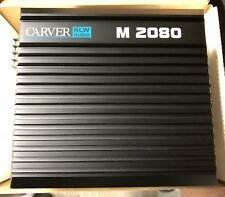 New Old School Carver KLW Audio M-2080 2 Channel Amplifier,NOS,NIB,SQ