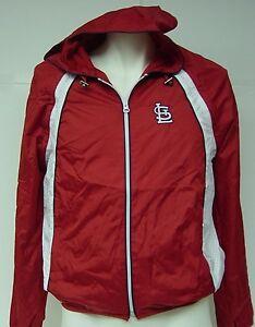 NEW Youth Kids Boys St. Louis CARDINALS Baseball G-III Windbreaker Vest Jacket