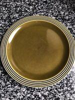 VINTAGE HORNSEA HEIRLOOM GREEN LARGE DINNER PLATE 10 Inch VGC