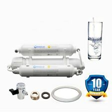 "1/4"" Auto Shut-off 4 Way RO Valve Switch Water Purifier Reverse Osmosis System"