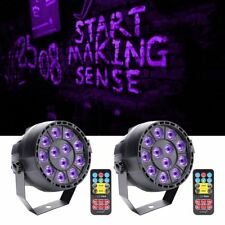U`King 2PCS 36W Stage Lighting 12LED UV DMX Par DJ Club Weeding Party Show Light