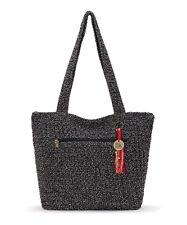 NWT The Sak Riviera Crochet Shoulder Bag Tote Shopper Urban Static SHP INTL