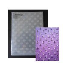 Cuttlebug Embossing Folders - Simple Flowers 5x7 folder USED