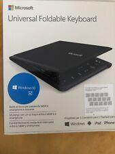 Microsoft Universal Foldable keyboard 1695 Windows Bluetooth
