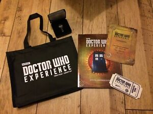 Doctor Who Experience Bag, Official Companion Guide, Ticket and Tardis Key