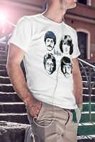 THE BEATLES Men White T-shirt Rock Band John Lennon Tee Shirt S M L XL XXL 3