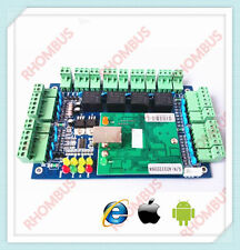 TCP/IP 4 Door Browser Server B/S iOS Android Apple Mobile App Access Controller