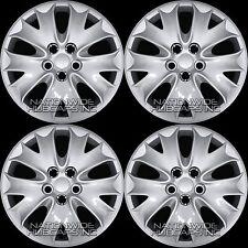 "4 New 2013 2014 Ford Fusion S 16"" Wheel Covers Full Rim Hub Caps 10 Spoke Hubs"