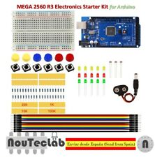 Starter Kit MEGA 2560 R3 MINI Breadboard LED Jumper Wire Button for Arduino