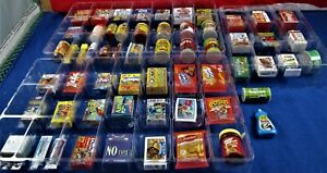 WACKY PACKAGES MINIS 3D PRODUCTS- Series 2-  59 PCS (NO DUPES),1  Sparkle,+ MORE
