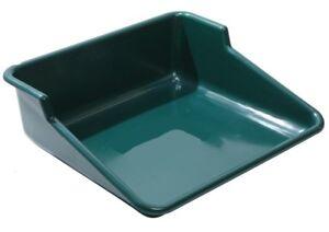 Large Green Plastic Potting Tray Tidy Plant Pot Trays Table Garden Greenhouse