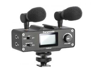 Saramonic CaMixer Kond.Mikrofon-System mit XLR Eingang Saramonic Mikrofone