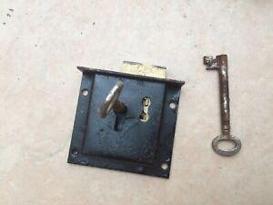 Vintage Steel Draw/Till Lock with 2 Keys