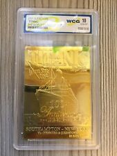 23 Karat Gold Solid Titanic 100th Anniversary Tablet Card Grade 10 Mint In Case