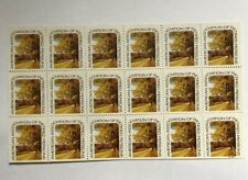 American Association Of Retired Persons Block Plate Lot of 18 Stamps Never Used