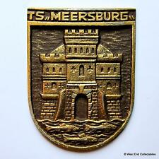 Ts Meersburg-Marina alemana Deutsche Marine Ship Tampion Placa Insignia Crest