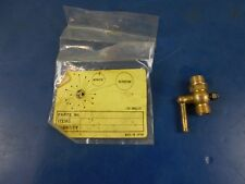 "NEW  1/4"" X 1/4"" BRASS PETCOCK MOTORCYCLES, MINI BIKES, MANY GAS ENGINES"
