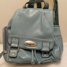 Rosetti Backpack Blue Silver Accent
