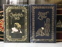 CHARLOTTE'S WEB - STUART LITTLE - Easton Press - SCARCE - SEALED w/ BOX