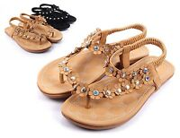 Camel New Slip On Only Summer Flowers Shape Slingback Womens Sandals Size 10