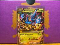 Pokemon Mega Heracross EX - Furious Fists - 112/111 Secret Rare NM/LP