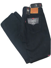 LEVI'S MENS 501 STRETCH STRAIGHT LEG BUTTON FLY JEANS 33 X 34