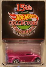 Hot Wheels 15th Nationals/Convention Drag Dairy Delivery Only 3600 made PINK