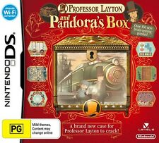 Professor Layton and Pandora's Box - BRAND NEW Nintendo DS DSi XL 3DS Diabolical